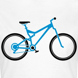 Mountain Bike T-shirts - T-shirt dam