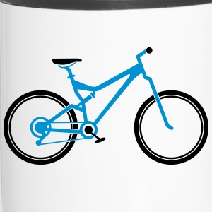 Mountain Bike Mugs & Drinkware - Travel Mug