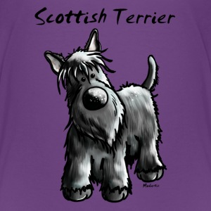 Cute Scottish Terrier Shirts - Teenage Premium T-Shirt