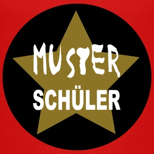 Musterschüler-Button - Teenager Premium T-Shirt