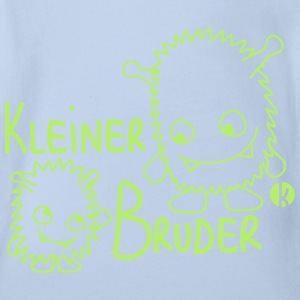 Little brother T-shirts - Ekologisk kortärmad babybody