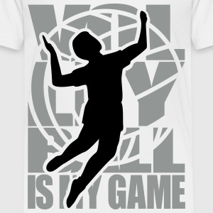 Volleyball is my Game  Volleyballer Volley Ball  T-Shirts - Teenager Premium T-Shirt