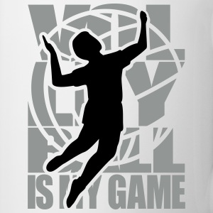 Volleyball is my Game  Volleyball  Volley Ball  Mugs & Drinkware - Mug
