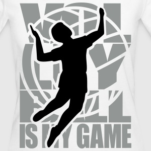 Volleyball is my Game  Volleyball  Volley Ball  T-Shirts - Women's Organic T-shirt