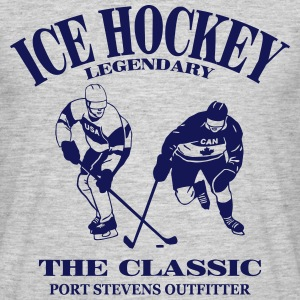eishockey - ice hockey T-shirts - Herre-T-shirt