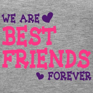 we are best friends forever ii 2c Tops - Women's Premium Tank Top
