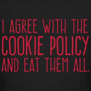 Cookie Policy T-Shirts - Men's Organic T-shirt