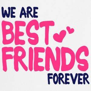 we are best friends forever i 2c  Aprons - Cooking Apron