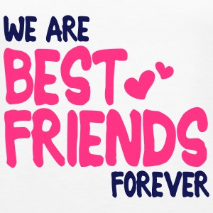 we are best friends forever i 2c Tops - Frauen Premium Tank Top