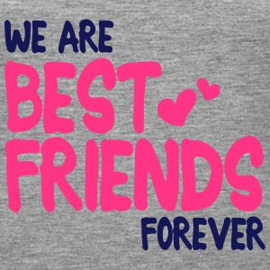 we are best friends forever i 2c Tops - Women's Premium Tank Top