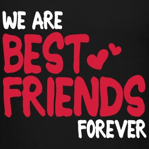 we are best friends forever i 2c T-shirts - Teenager premium T-shirt