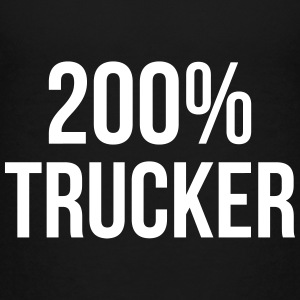 200% Trucker Shirts - Teenage Premium T-Shirt