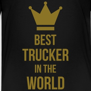 Best Trucker in the World Camisetas - Camiseta premium adolescente