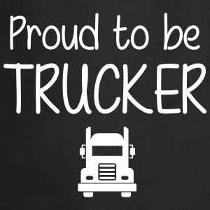 Proud to be Trucker  Aprons - Cooking Apron