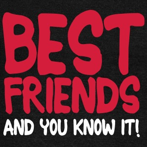 best friends and you know it ii 2c Felpe - Felpa con scollo a barca da donna, marca Bella