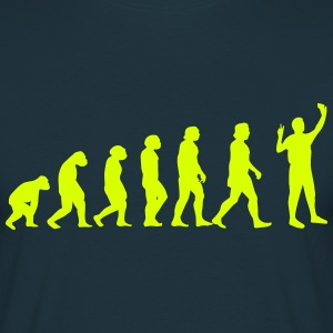 Evolution Selfie - Men's T-Shirt