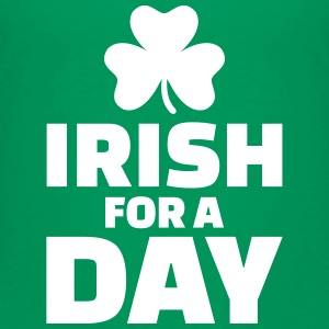 Irish for a day T-Shirts - Kinder Premium T-Shirt