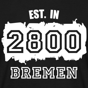 Established 2800 Bremen T-Shirts - Männer T-Shirt