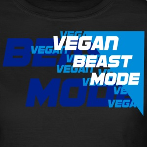 Vegan Beastmode [blue] T-Shirts - Frauen T-Shirt