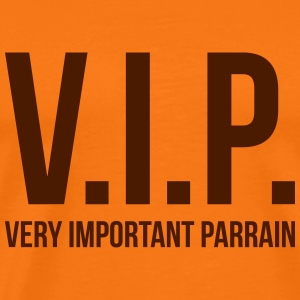 VIP Very Important Parrain Tee shirts - T-shirt Premium Homme