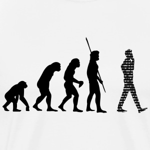Binär Evolution Cell T-shirts - Premium-T-shirt herr