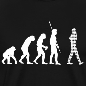 Evolution Handy Binary Shirt - Männer Premium T-Shirt