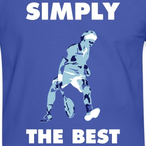 SIMPLY THE BEST - Männer Kontrast-T-Shirt
