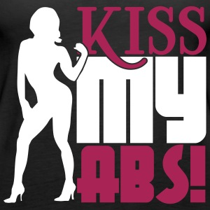 Kiss my abs Tops - Frauen Premium Tank Top