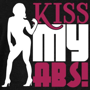 Kiss my abs Sweat-shirts - Pull Femme col bateau de Bella