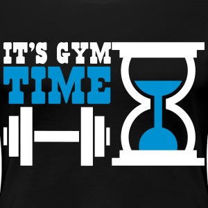 Bodybuiling - It's gym time Tee shirts - T-shirt Premium Femme
