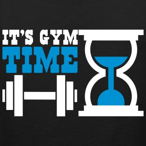 Bodybuiling - It's gym time Tanktoppar - Premiumtanktopp herr