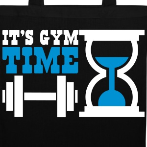Bodybuiling - It's gym time Sacs et sacs à dos - Tote Bag