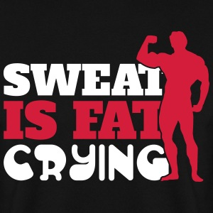 Sweat is fat crying Gensere - Genser for menn