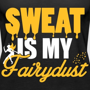 Sweat is my fairydust Topy - Tank top damski Premium
