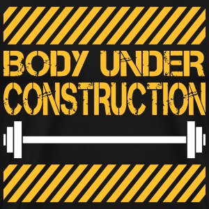 Body under construction Camisetas - Camiseta premium hombre