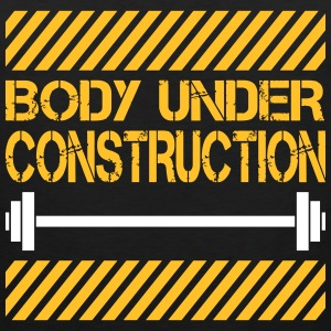 Body under construction Tanktoppar - Premiumtanktopp herr