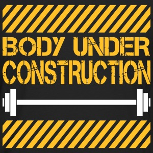 Body under construction Langarmshirts - Männer Premium Langarmshirt