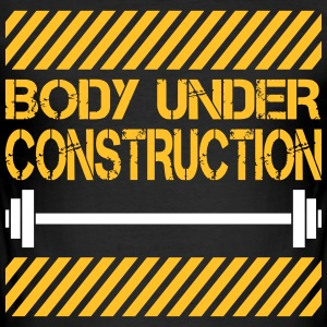 Body under construction Tee shirts - Tee shirt près du corps Homme