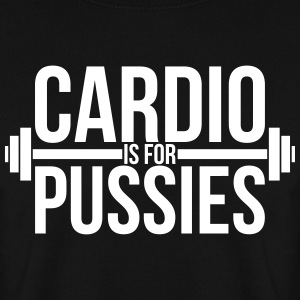 Cardio is for pussies Sweatshirts - Herre sweater