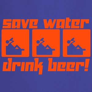 Save Water Drink Beer! (Vector) - Cooking Apron