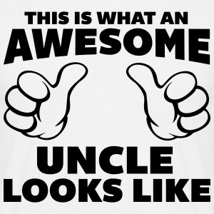 Awesome Uncle Looks Like Tee shirts - T-shirt Homme