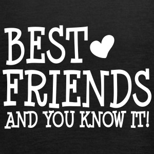 best friends and you know it ii  Toppe - Dame tanktop fra Bella