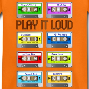 Teenager T-Shirt Music Cassette Vintage analog - Teenager Premium T-Shirt