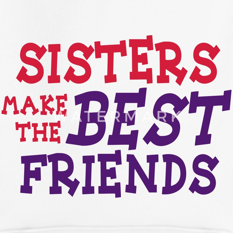 sisters make the best friends 2c Bluzy - Bluza dziecięca z kapturem Premium