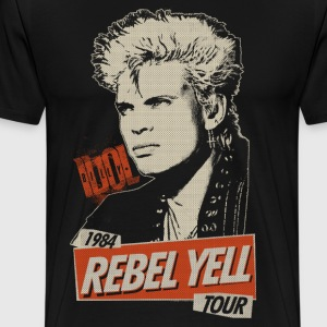 Rebel Yell Billy Idol - Männer Premium T-Shirt