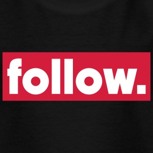 follow T-Shirts - Teenager T-Shirt
