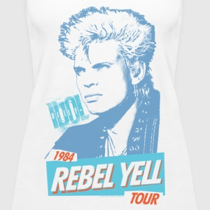 Rebel Yell Billy Idol - Women's Premium Tank Top