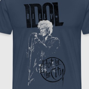 Hot In The City Billy Idol - T-shirt Premium Homme