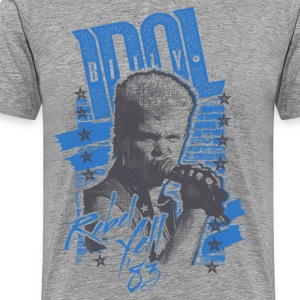 Rebels Billy Idol - T-shirt Premium Homme