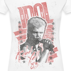 Rebels Billy Idol - Women's Premium T-Shirt